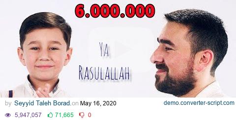Download Seyyid Peyman Ve Oglu Seyyid Huseyn Ya Resulallah 2020 Official Video Youtube Media Converter